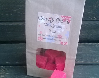 Candy Cane Scented Wax Melts