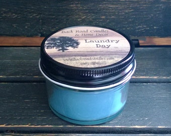 4 oz. Jar Candle // Laundry Day Scented