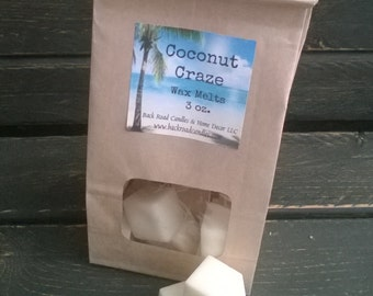 Coconut Craze Scented Wax Melts