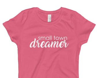 Small Town Dreamer 2 Girl's T-Shirt