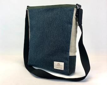 Handmade Bag - Woman's Purse - Lightweight Day Bag - Unique Gift - One Of A Kind - Crossbody Purse - Shoulder Bag