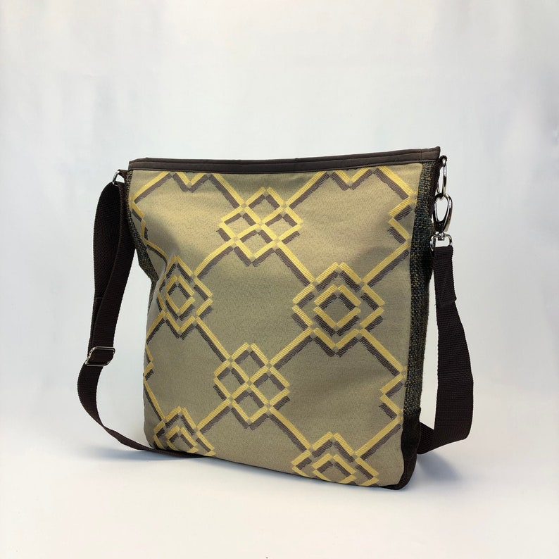 Large Cross Body Bag One of a Kind Durable Lihghtweight Bag image 0