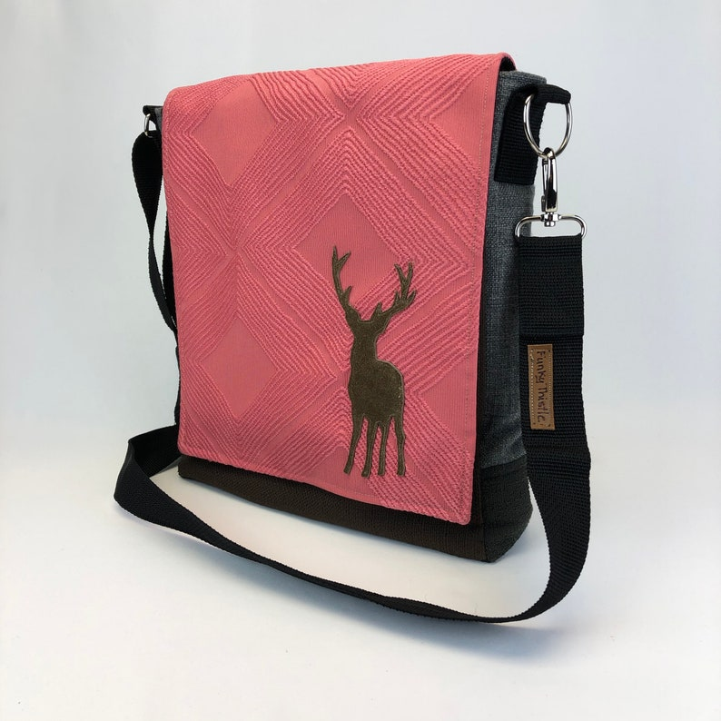 One Of a Kind Durable Cross Body Bag Fun Unique Purse image 0