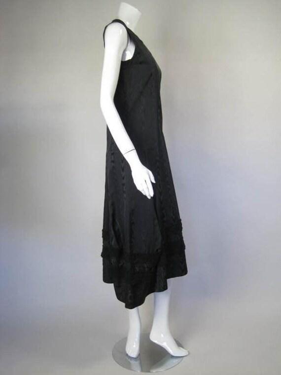 Comme des Garçons Dress Silk Moire Vintage - image 3