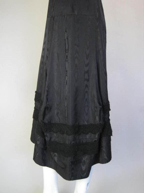 Comme des Garçons Dress Silk Moire Vintage - image 6