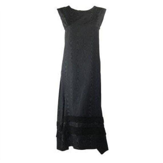 Comme des Garçons Dress Silk Moire Vintage