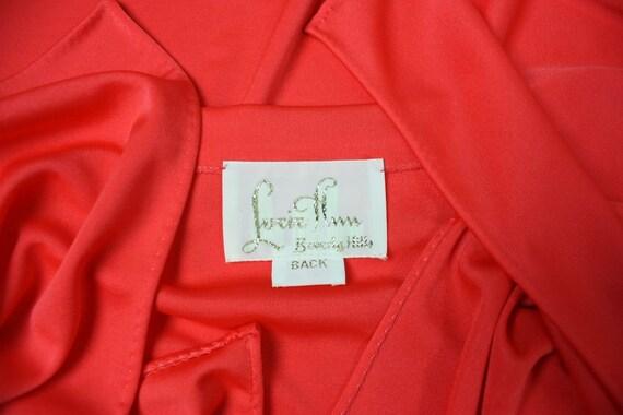 1970's Caftan Lucie Ann Jersey Loungewear Vintage - image 8
