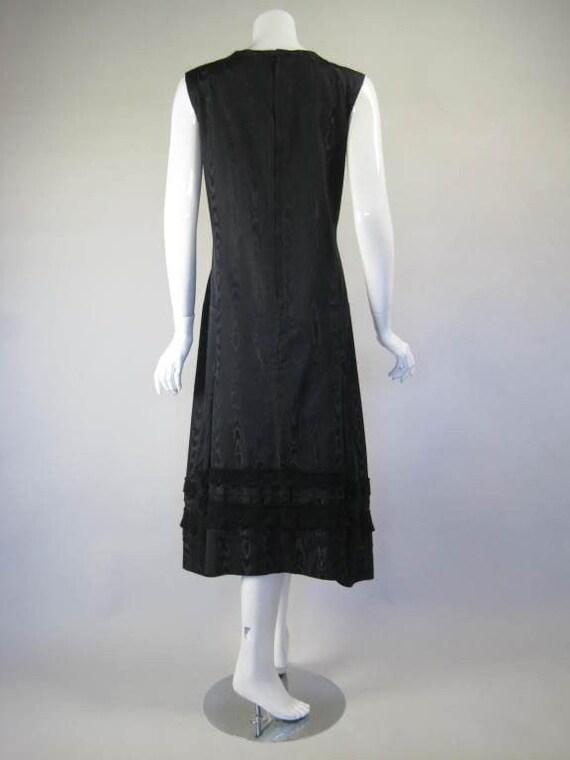 Comme des Garçons Dress Silk Moire Vintage - image 4