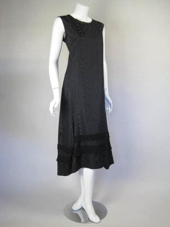 Comme des Garçons Dress Silk Moire Vintage - image 2