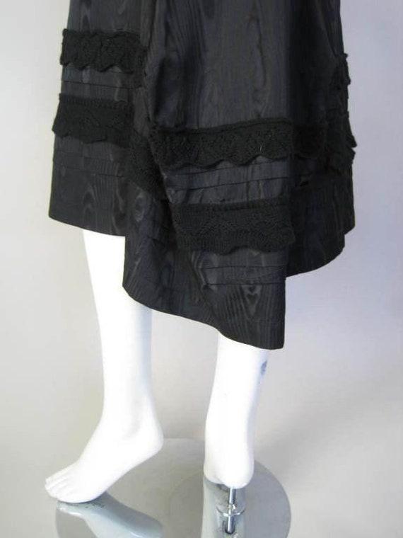 Comme des Garçons Dress Silk Moire Vintage - image 8