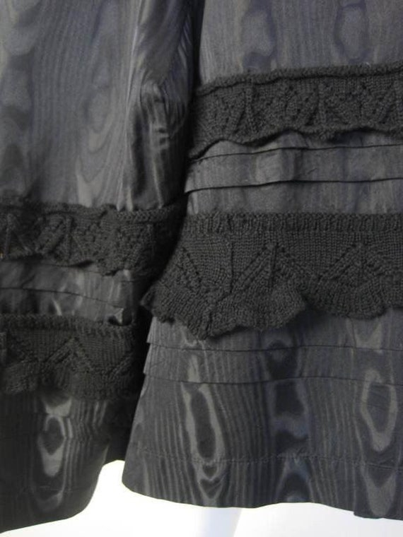 Comme des Garçons Dress Silk Moire Vintage - image 9