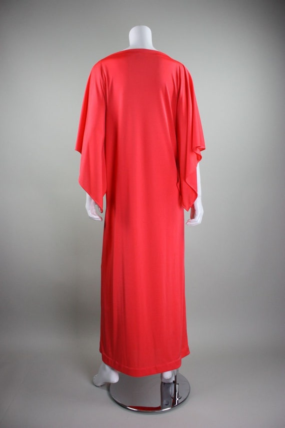 1970's Caftan Lucie Ann Jersey Loungewear Vintage - image 5