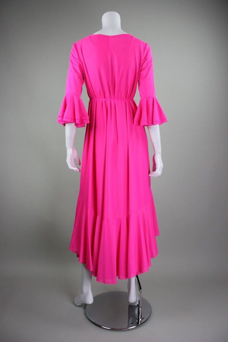 1970/'s Robe and Nightgown Lucie Ann for Claire Sandra Vintage