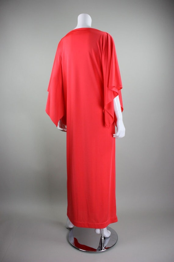 1970's Caftan Lucie Ann Jersey Loungewear Vintage - image 4