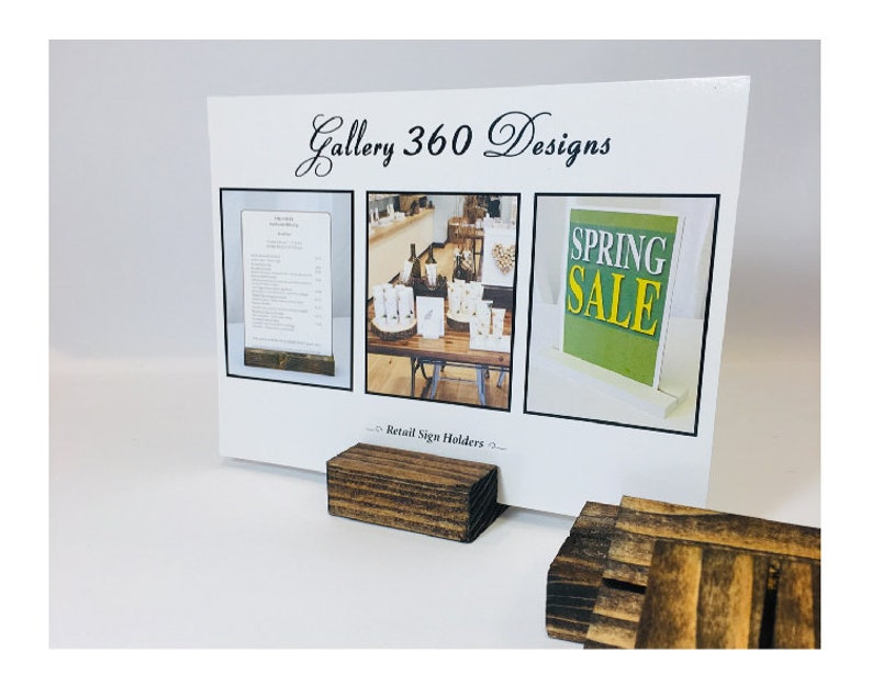 Stupendous Wood Place Card Holders And Table Numbers Set Of 25 2 5X3 4X6 5X7 Sign And Card Stands Card Display Price Tag Labels Menus Download Free Architecture Designs Jebrpmadebymaigaardcom