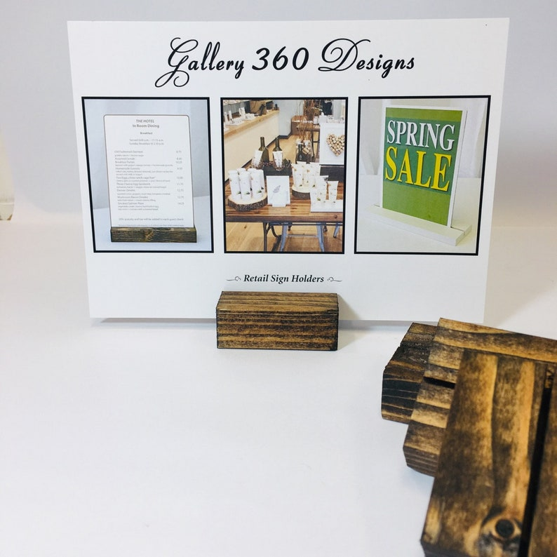Tremendous Wood Place Card Holders And Table Numbers Set Of 25 2 5X3 4X6 5X7 Sign And Card Stands Card Display Price Tag Labels Menus Download Free Architecture Designs Jebrpmadebymaigaardcom