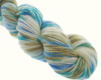 Australis DK,  Hand Dyed Yarn, 8 ply, Yarn, Hand dyed, Superwash Merino, LAPIS