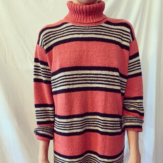 Vintage oversized sweater dress