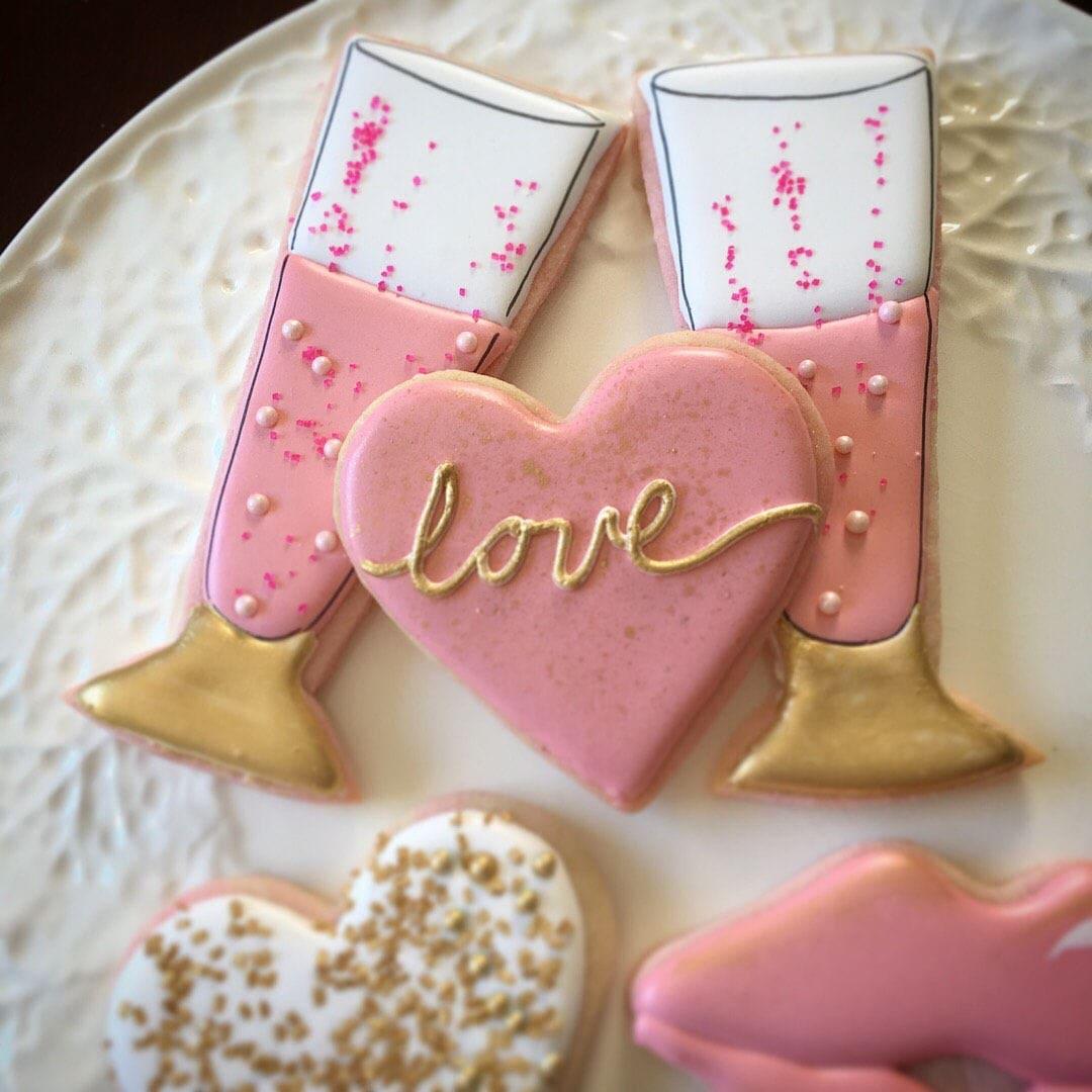 One dozen assorted Valentine Cookies | Etsy