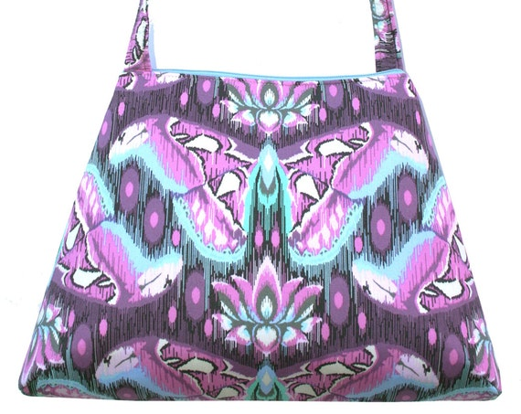 SALE! Moth, purple, lavender, retro style, tall Retro