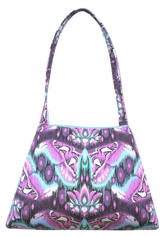 SALE! Moth, purple, lavender, retro style, tall Retro