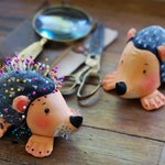 pincushion, hedgehog, pin cushion, to store pins
