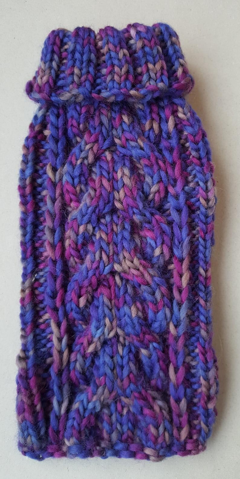 Hand Knit Dog Sweater Small Dog Sweater-Chihuahua sweater-Pet Sweater-Dog Costume Multiple sizes