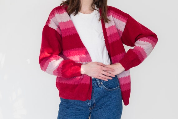 Poncho sweater with pockets knitted in chunky alpaca wool Plus size boho clothing