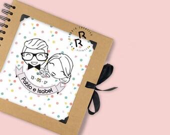 Libro de firmas / Álbum personalizado avatares