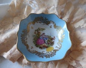 Vintage Limoges Porcelaine De France - Small Bowl - Fragonard
