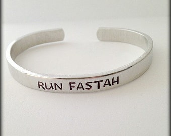 Boston Marathon Run Fastah Bracelet