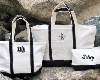 8d08e94c6 Zippered Tote Bag   Bridal Party Totes   Bridesmaid Tote Bag   Custom Tote  Bag   Monogram Tote Bag   Personalized Tote Bag   Canvas Tote