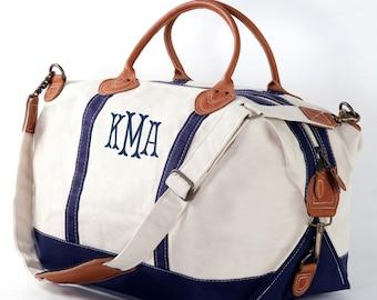 e2aba818ba Monogram Weekender Bag Monogram Overnight Bag Travel Bag Personalized  Luggage Monogram Duffle Bag Canvas Weekender Bag Canvas Bags
