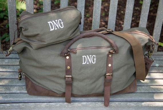 Duffel Bag Dopp Kit Groomsmen Gift Duffle Bag Weekender Bags   Etsy 153ee4ac55