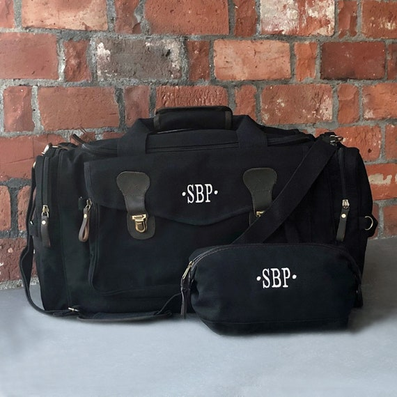 Groomsmen Gift Vintage Overnight bag Groomsmen Duffel Bag Gift for her Travel Bag for Men Christmas gift for him