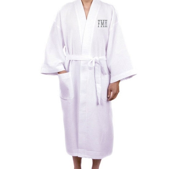 Mens Waffle Robes Mens Kimono Robes Mens Robe Mens Monogram  59d0f0d6a