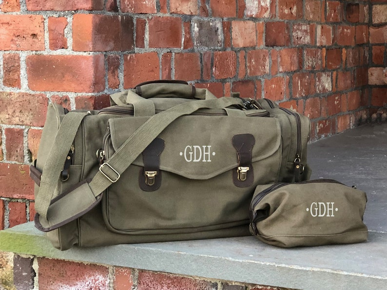 e4873829a0c1 Duffel Bag Dopp Kit Groomsmen Gift Duffle Bag Weekender Bags Mens Duffel  Bags Canvas Duffel Bag Groomsman Gift Overnight Bag Carry On Bag