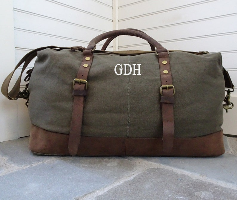 Travel Bag Weekender Duffel Bag For Men Custom Canvas Duffel  24dd721902bcf