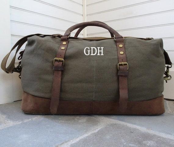 Bolsa de viagem Weekender mochila para homens Bolsa de lona personalizada - Etsy Bolsa de viagem Weekender bolsa para homens Bolsa de lona personalizada bolsa de couro Bolsa masculina de final de semana Bolsa de lona bolsa de semana Presentes para o melhor homem - 웹