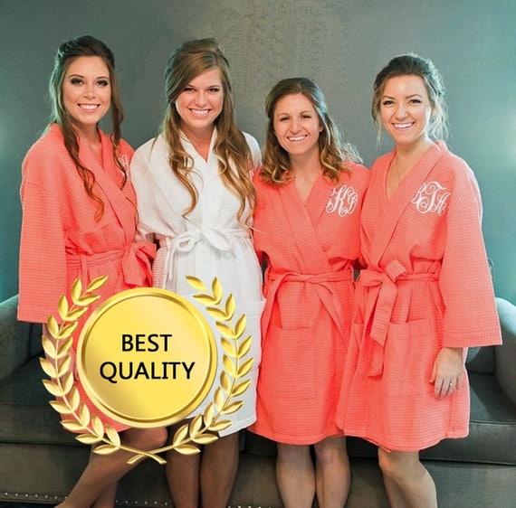 9d6826c4e9 Bridal Robes Wedding Robes Bridesmaids Robes Bridal Robe Bride