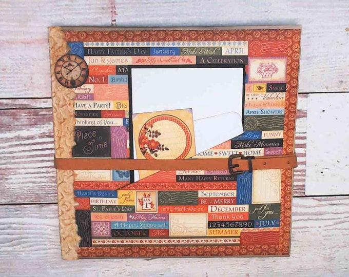 Scrapbook Album, Mini Album, Planner