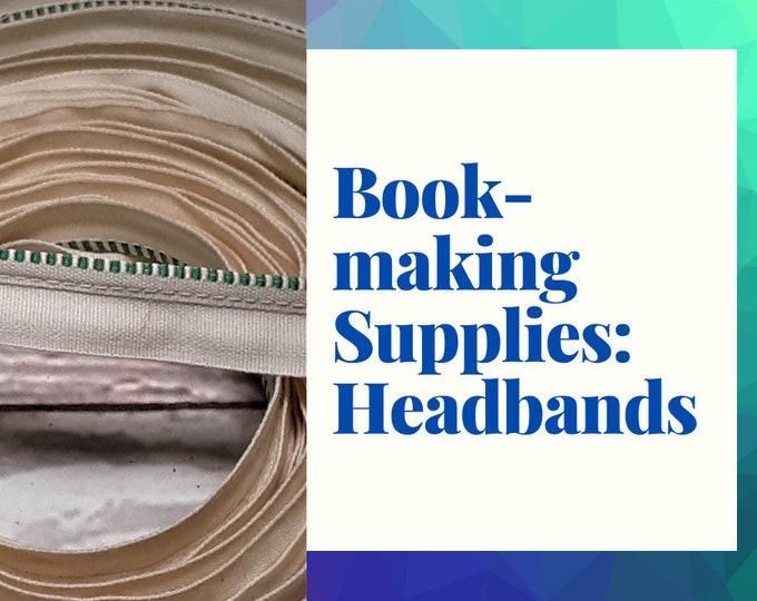 Book Making Supplies, Headbands