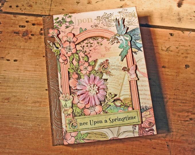 Scrapbook Album - Fairy Tale Theme - Mini Album