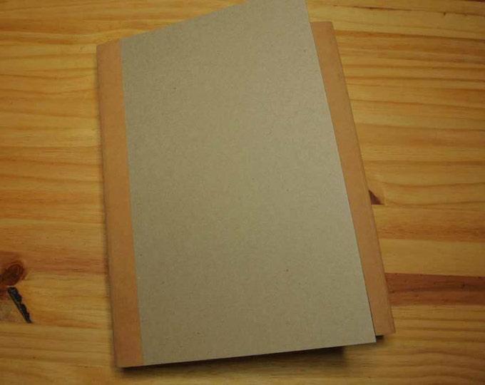 Blank Scrapbook Album Kit, Gatefold Style, Mini Album Handmade