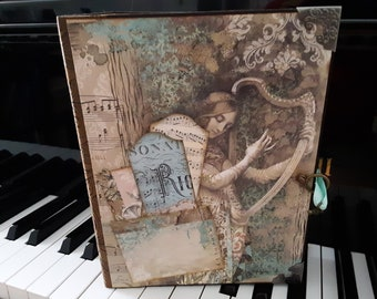 Music Theme Mini Album, Scrapbook Album