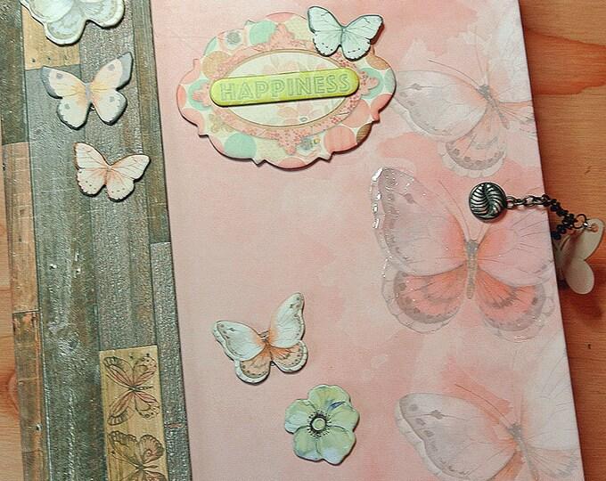 Scrapbook Album, Mini Album Handmade, Baby Girl Gift