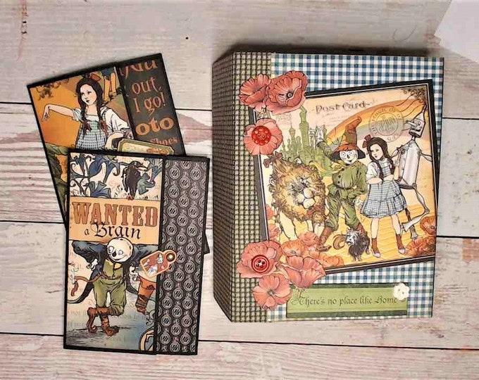 Wizard of Oz Mini Album, Scrapbook Album