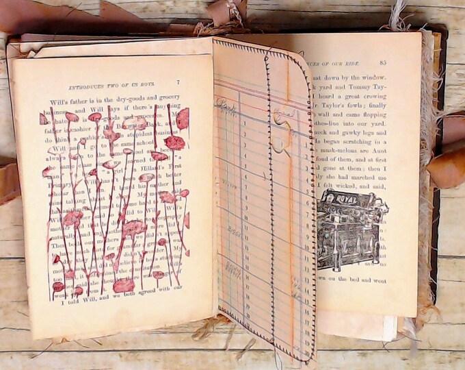Vintage Book Pages, Junk Journal Supplies, Ephemera