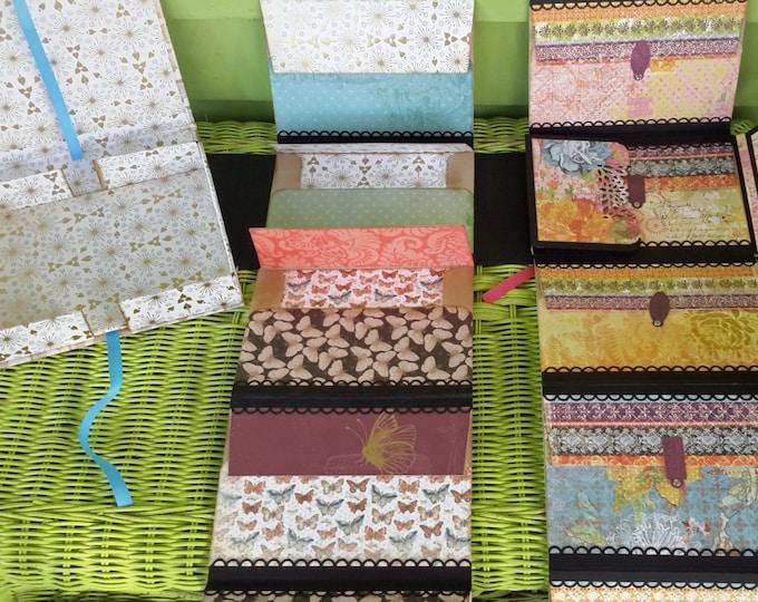 Envelope Mini Albums, Set of 2 in Gift Box, Boxed Set