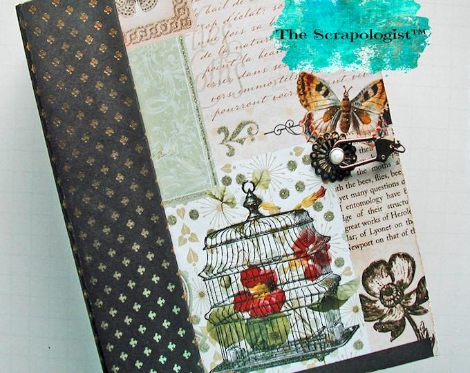 Butterfly Theme Scrapbook, Mini Album Handmade